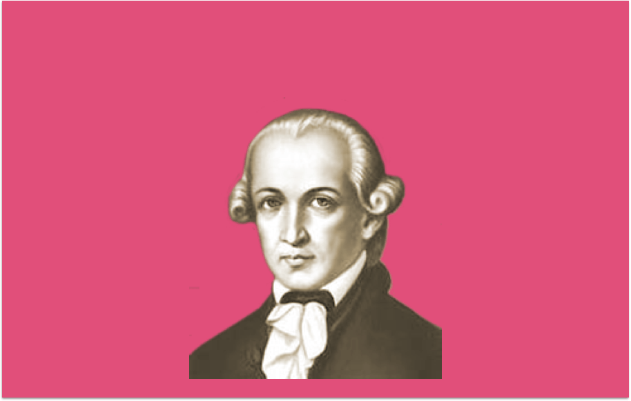 Revolutionaire filosofie (Immanuel Kant), met dank aan de paus