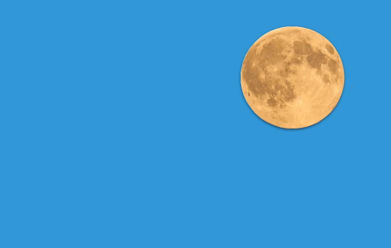 Bewijs: de maan is van kaas