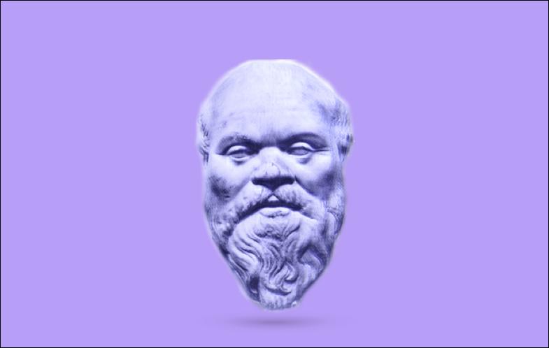 De filosoof Socrates